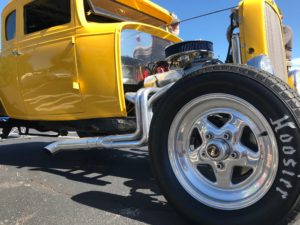 Hot rod car - photo by Stacey Holland
